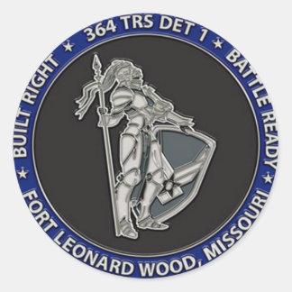 364 TRS Detachment 1 Items Classic Round Sticker