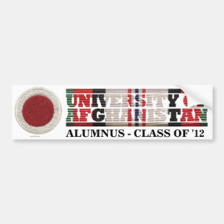 37th Infantry BCT U of Afghanistan Sticker Car Bumper Sticker