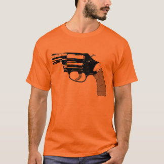 .38 feartruth godfather revolver orange tee
