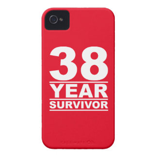 38 year survivor iPhone 4 cover