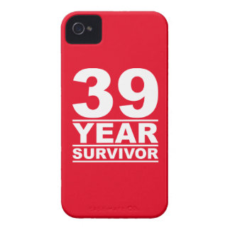39 year survivor iPhone 4 Case-Mate case