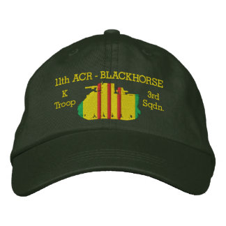 3/11th Cavalry M113 ACAV Hat Embroidered Baseball Caps