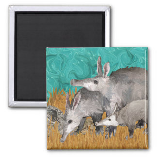 3 As in Aardvark Magnet