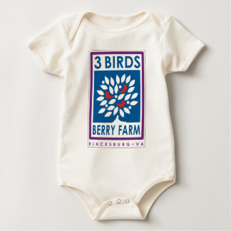 3 Birds Berry Farm Organic Infant Creeper
