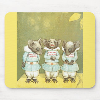 3 Blind Mice Mouse Pad