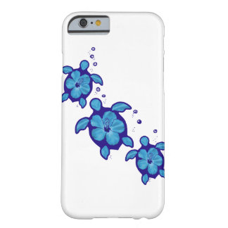 3 Blue Honu Turtles Barely There iPhone 6 Case