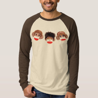 3 cheeky little monkeys trio 2 shirts