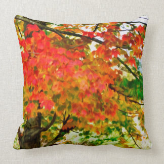 3 colors of the nature 4 throw cushions