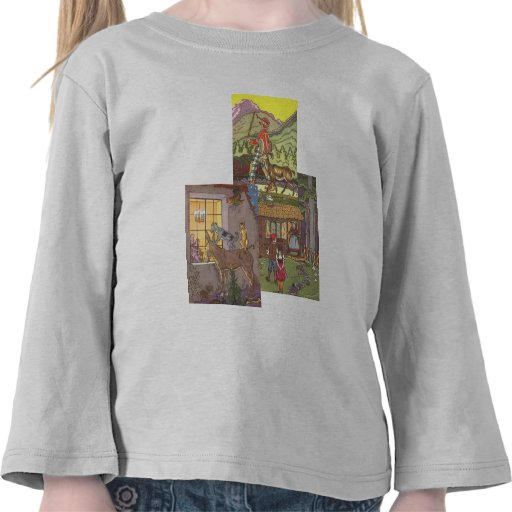 3 different Vintage Classic Fairy Tales by Hauman T Shirts