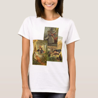 3 different Vintage Victorian Fairy Tales T-Shirt