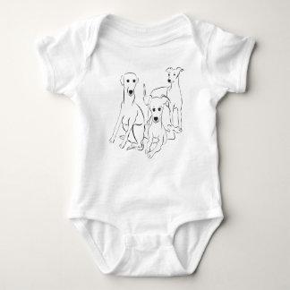 3 Iggy Baby Onsie Baby Bodysuit