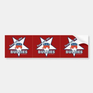 3-in-1 Toss Out the Republican BULLIES! Bumper Sticker