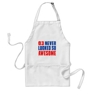 3 Never Looked So Awesome Standard Apron