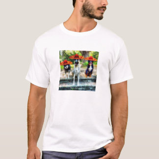 3 Perros Amigos T-Shirt