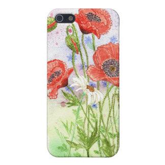 '3 Poppies' iPhone 4 Case