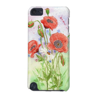 '3 Poppies' iPod Touch Case