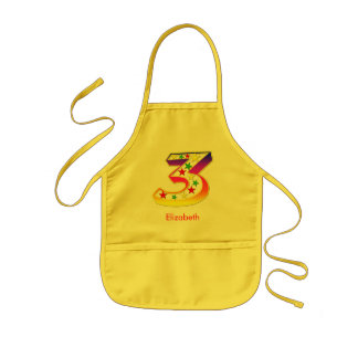 3 Star for Kids Aprons