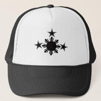 3 Stars and A Sun Trucker Hat