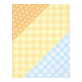 3 Stripe Checks :  Attention Graber Templates Flyer