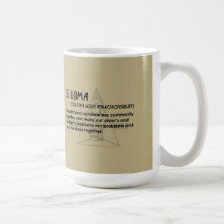 3. UJIMA Kwanzaa Mug