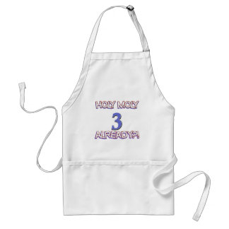 3 year old designs adult apron