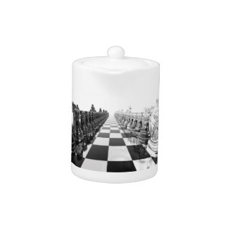 3D Black and White Chess Board
