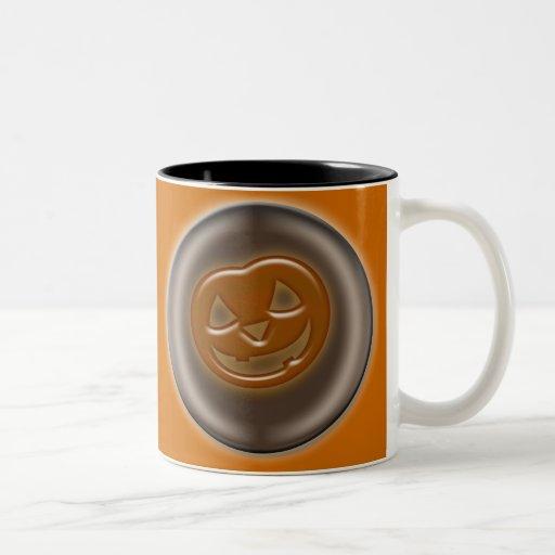 3D Halloween Pumpkin Coffee Mugs