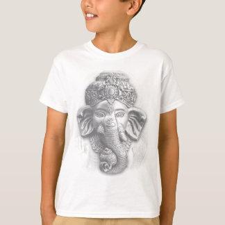 3d Lord Ganesha - Om T-Shirt