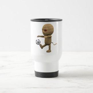 3d Mummy Football Travel Mug