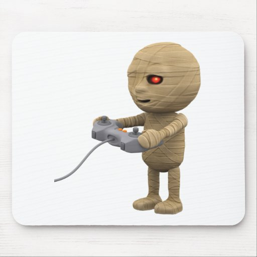 3d-mummy-videogame mouse pad