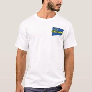 3D Nevada State Flag T-Shirt