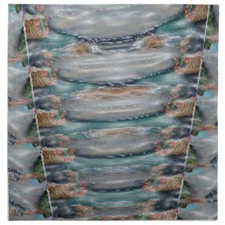 3d Pearl Precious Stone Collection Napkins