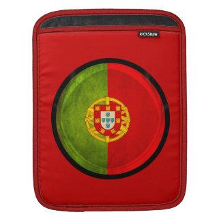 3D Portugal flag iPad Sleeve