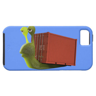 3d Snail Trucker (editable) Case For The iPhone 5