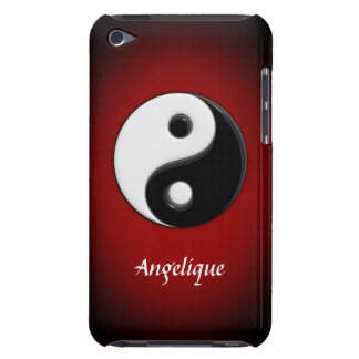 3D Yin Yang Customisable Barely There iPod Case