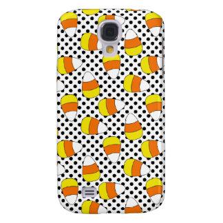3G Polka Dot Candy Corn  Galaxy S4 Case