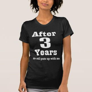 3rd Anniversary (Funny) T-Shirt