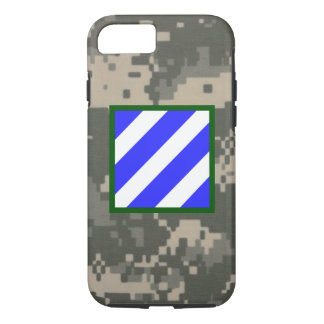 "3rd Infantry Division ""Rock of the Marne"" Camo iPhone 7 Case"