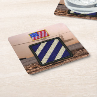 3rd infantry division veterans vets patch coasters