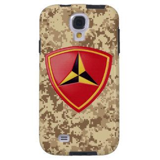 3rd Marine Division Fighting Third Marine Camo Galaxy S4 Case