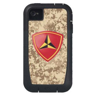 3rd Marine Division Fighting Third Marine Camo iPhone4 Case