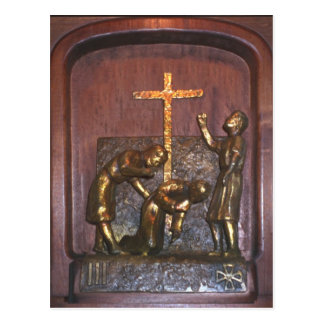 3rd Station of the Cross Postcard