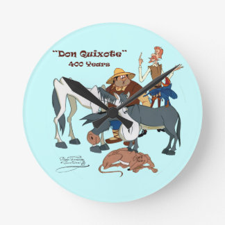 400 Years Don Quixote @QUIXOTEdotTV Clocks