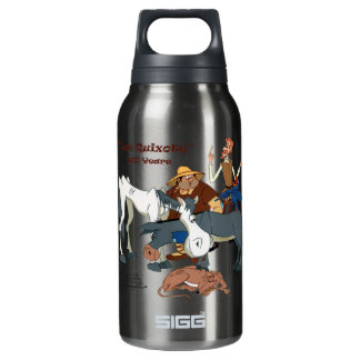 400 Years Don Quixote @QUIXOTEdotTV Insulated Water Bottle