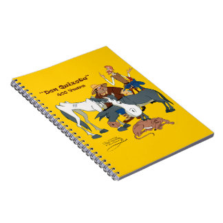 400 Years Don Quixote @QUIXOTEdotTV Notebook