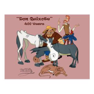 400 Years Don Quixote QUIXOTEdotTV Post Card