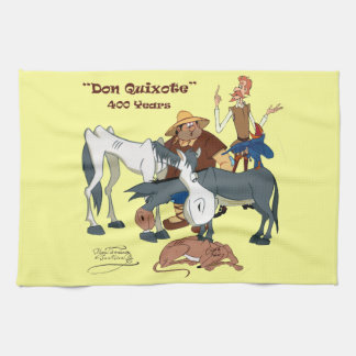 400 Years Don Quixote @QUIXOTEdotTV Tea Towels
