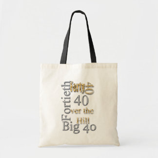 40 forty fortieth 40th party reunion celebration tote bag