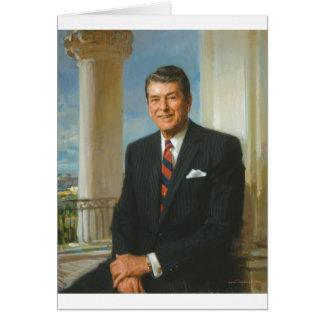 40 Ronald Reagan Card
