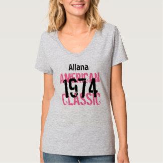 40th Birthday Gift 1974 American Classic  V205A T-Shirt